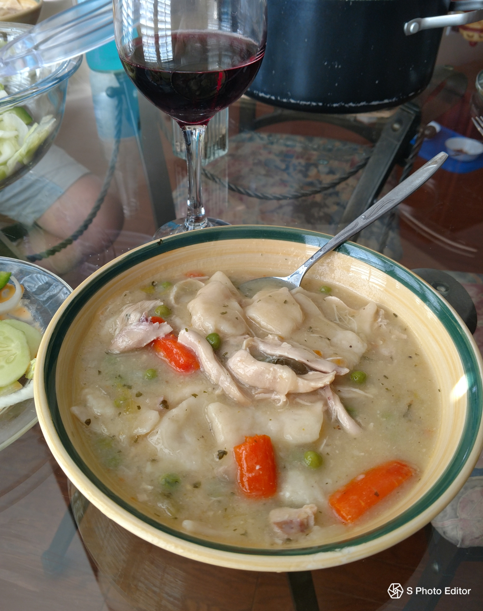 Better than Cracker Barrel® Chicken 'n Dumplings