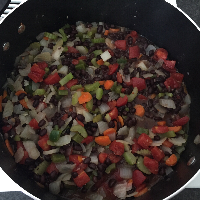 Easy Vegan Black Bean Soup Moontan