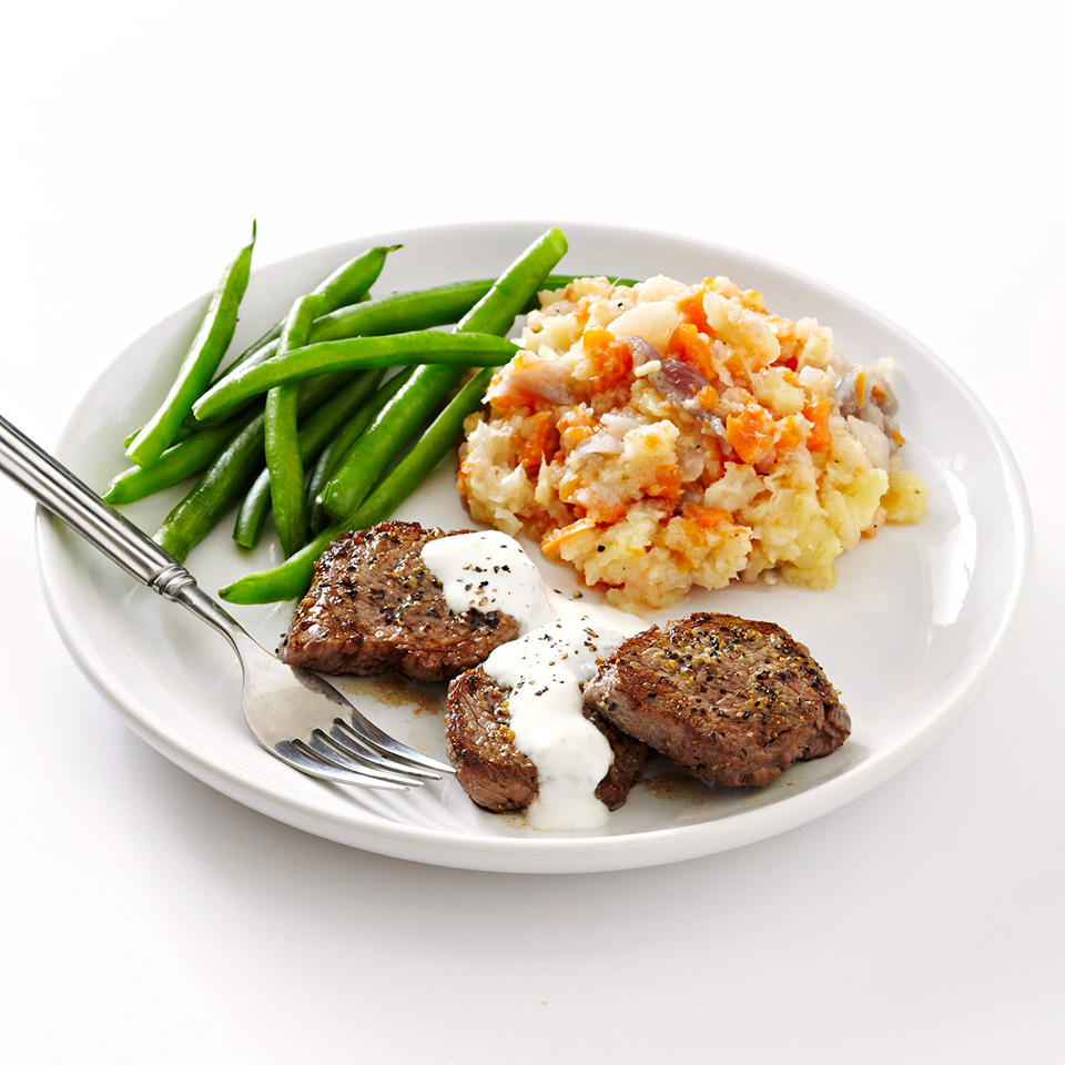 Beef Medallions with Horseradish Sauce Trusted Brands