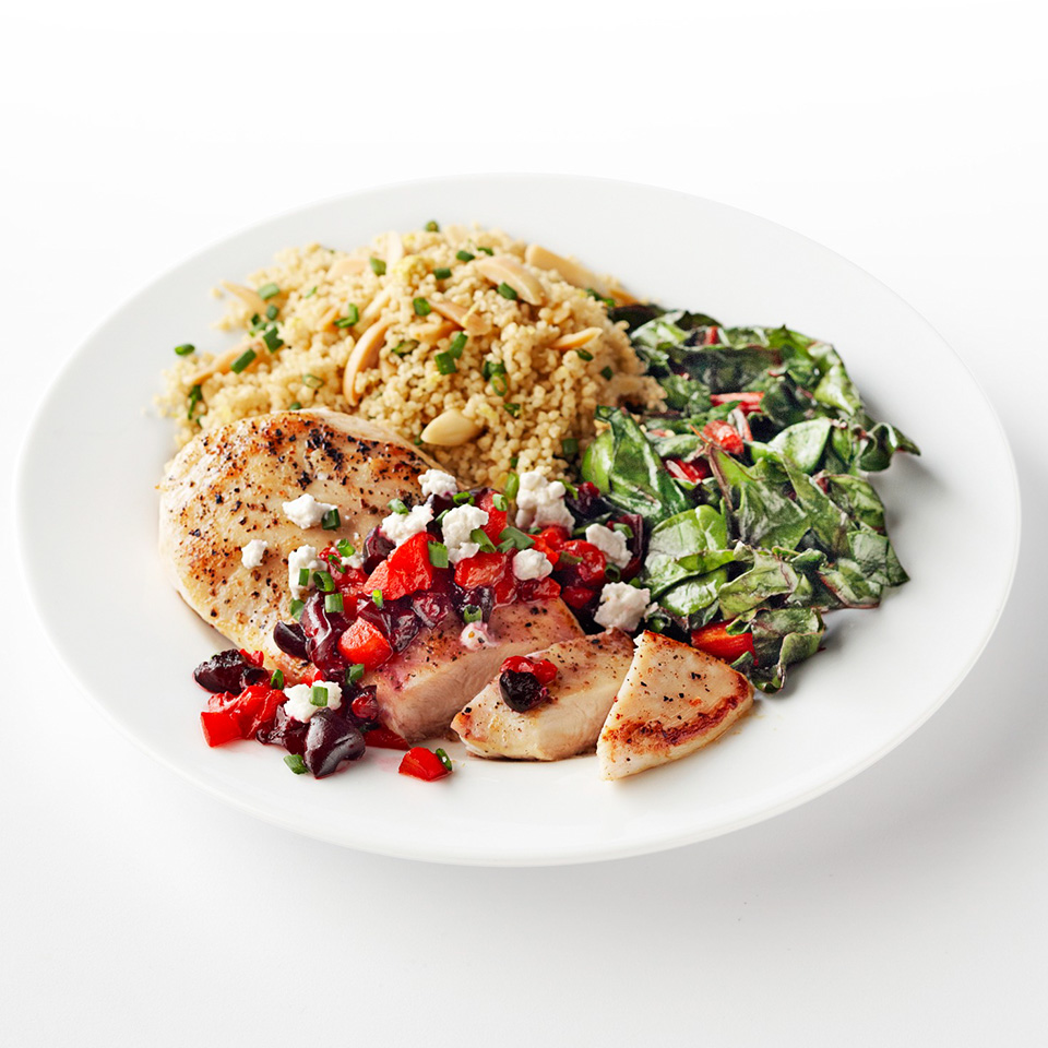 Chicken with Cherry-Pepper Sauce Diabetic Living Magazine
