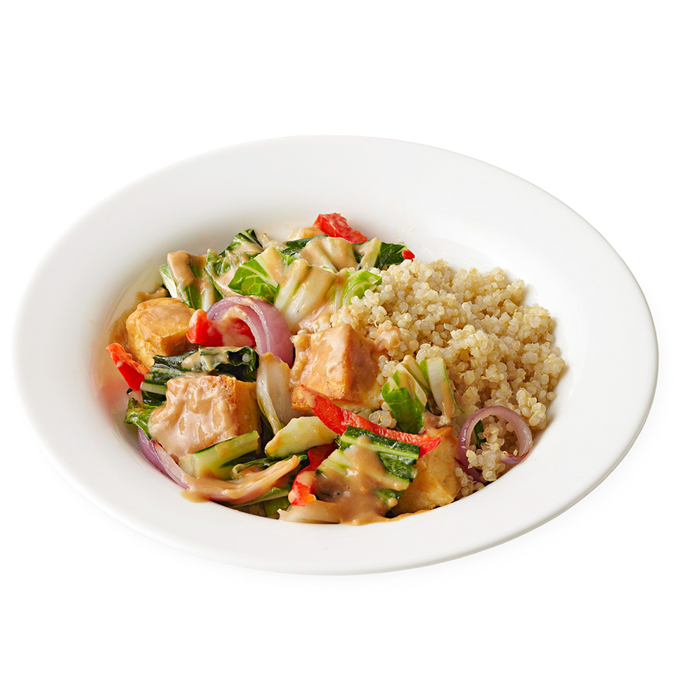 Tofu Stir-Fry with Spicy Peanut Sauce Trusted Brands