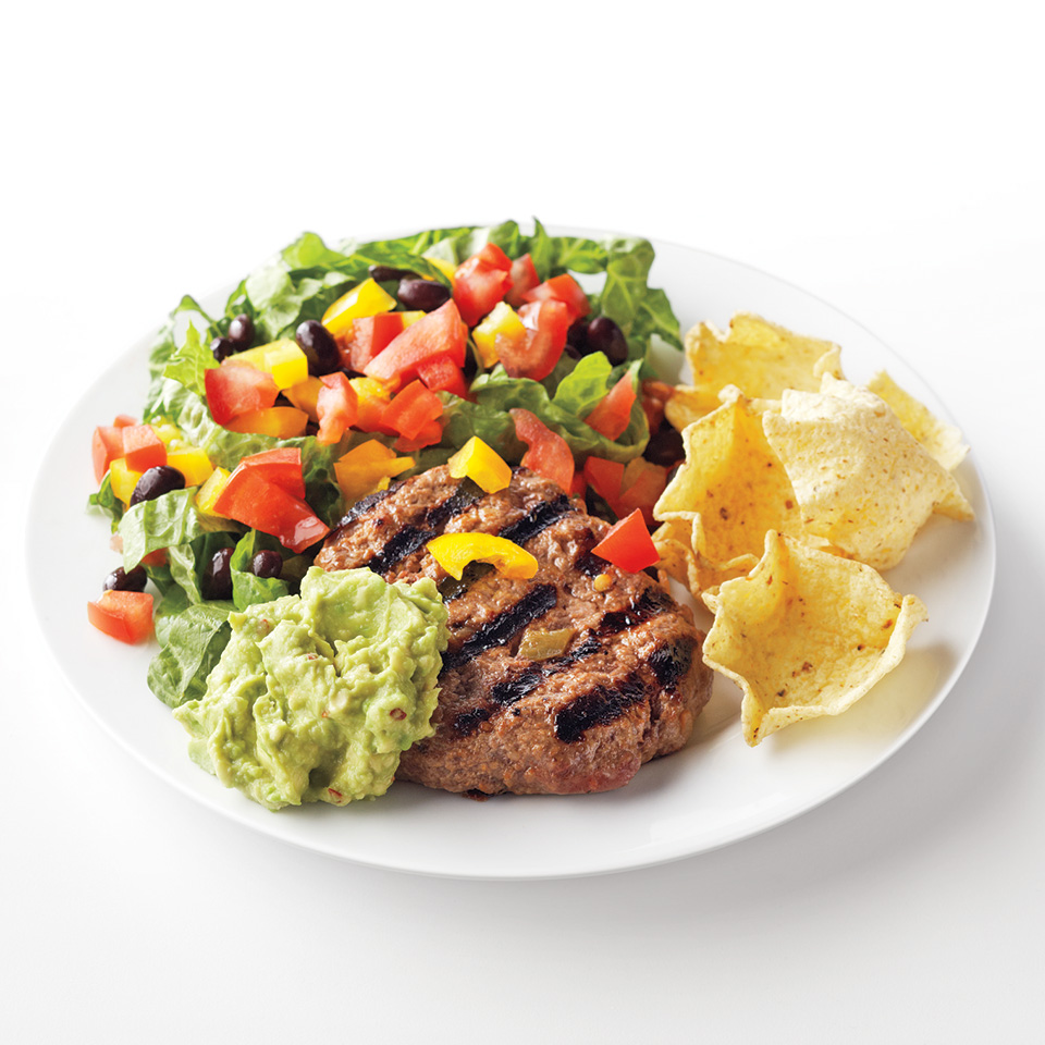 Taco Salad Plate Trusted Brands