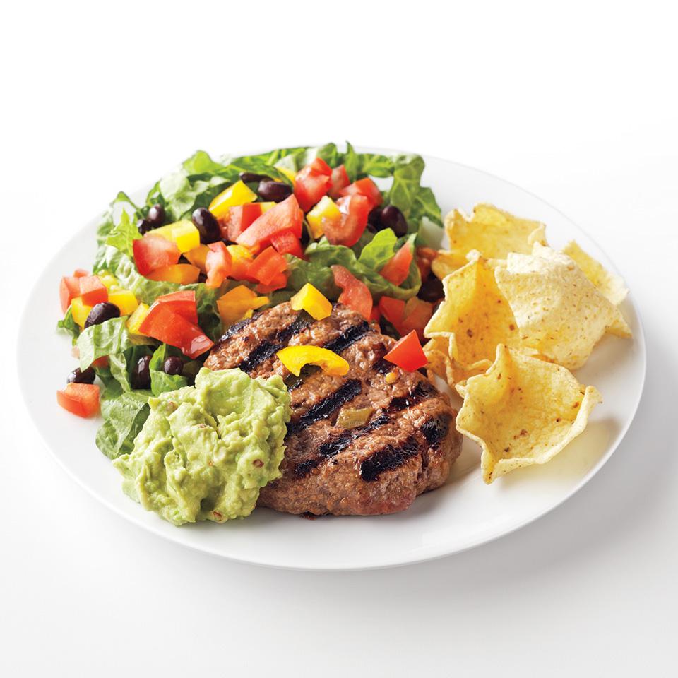 Taco Salad Plate Diabetic Living Magazine