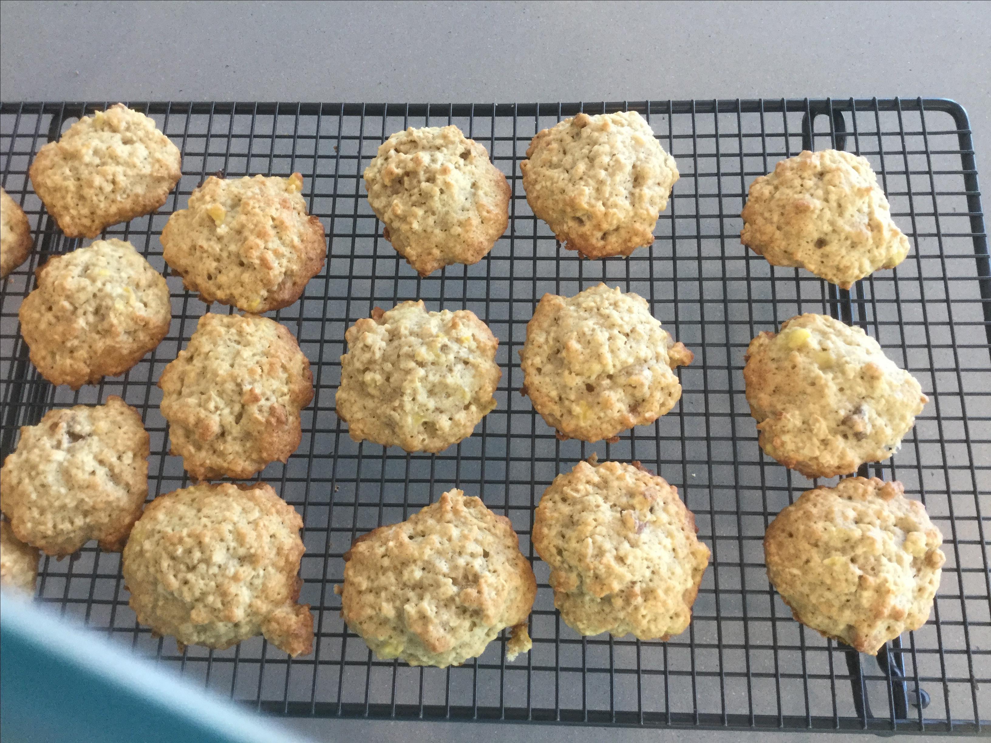 Banana Oatmeal Cookies III Meggy