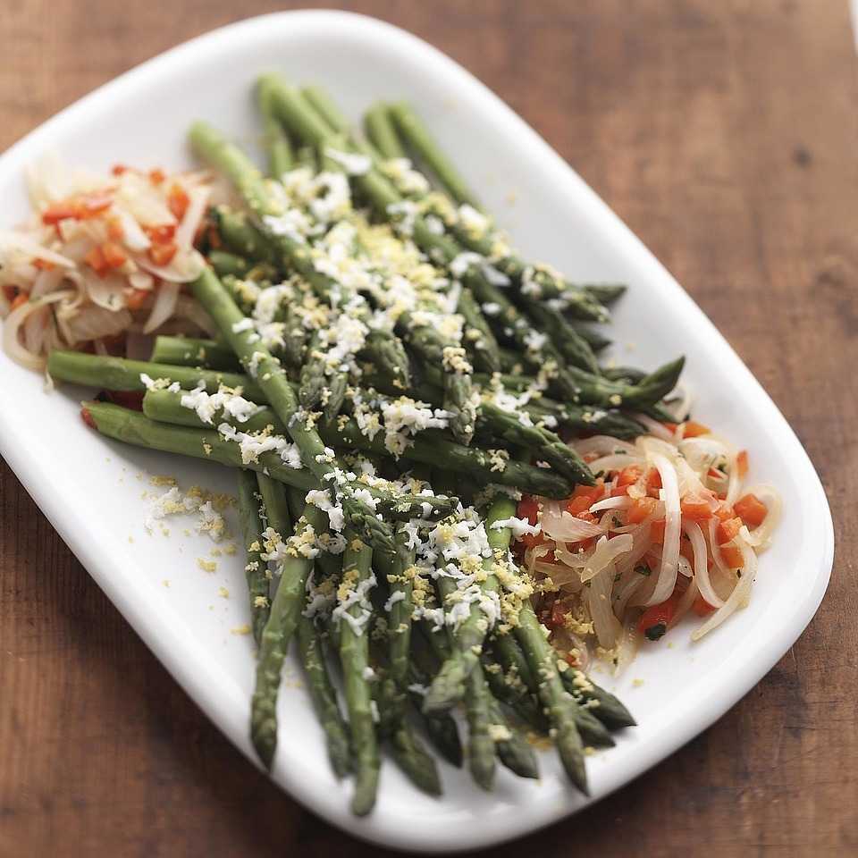 Asparagus with Red Peppers Diabetic Living Magazine