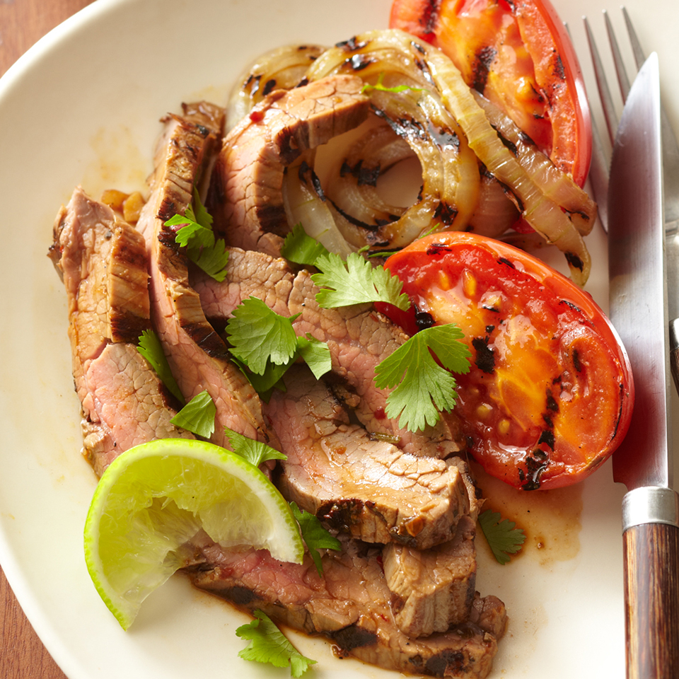 Chipotle-Marinated Flank Steak Diabetic Living Magazine