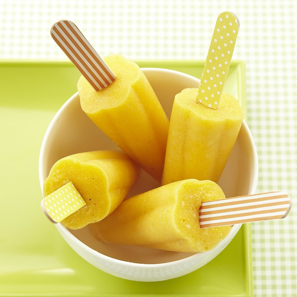 For kids--and for those who feel like kids--this easy, diabetic-friendly dessert and snack recipe has fruits to please: mango, pineapple and banana, blended together with orange juice to create a frozen summery treat. Source: Diabetic Living Magazine