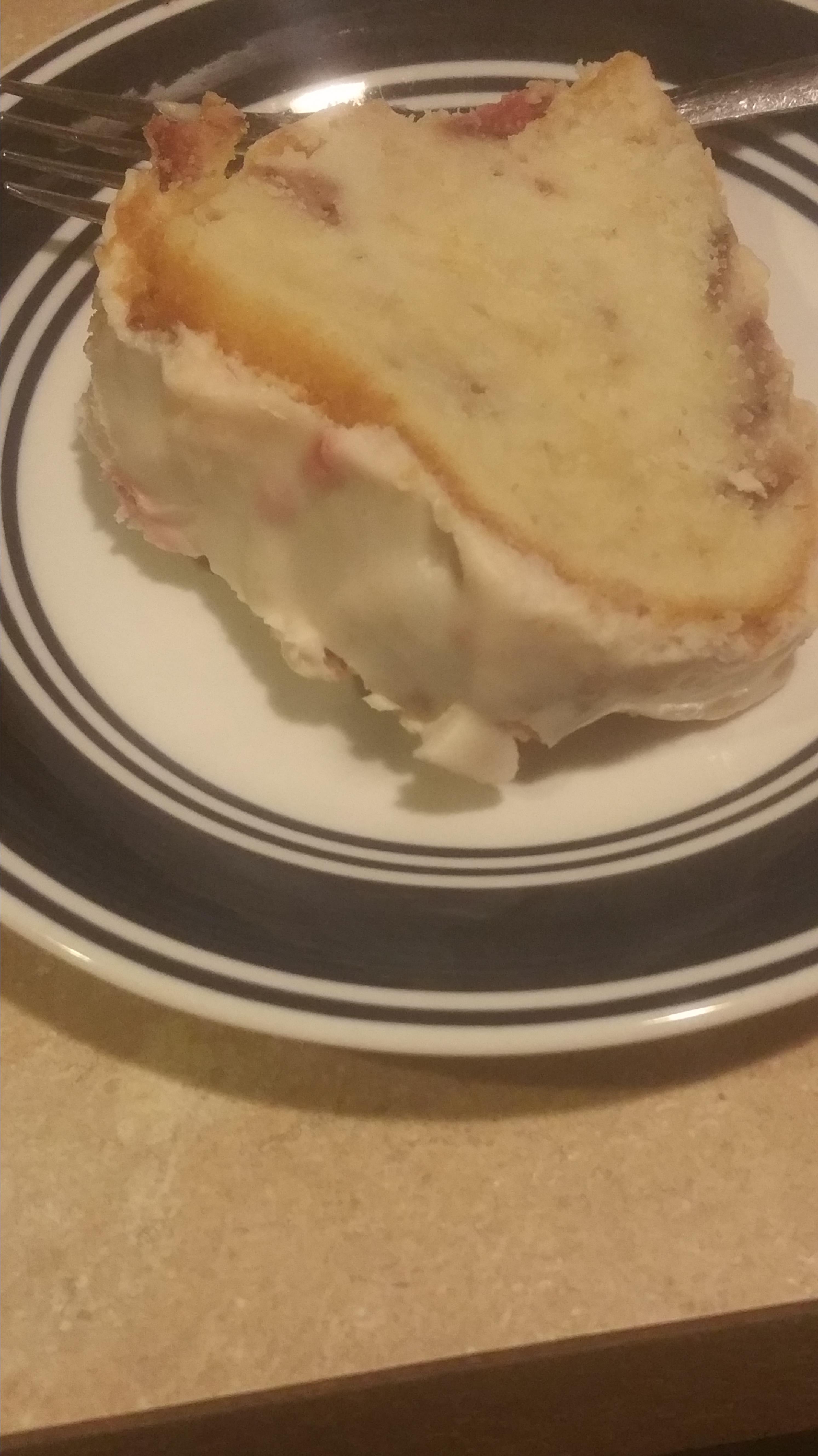 Amazing Strawberry Pound Cake Nakia Muhammad