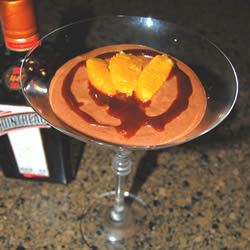 Chocolate Orange Flavored Mousse