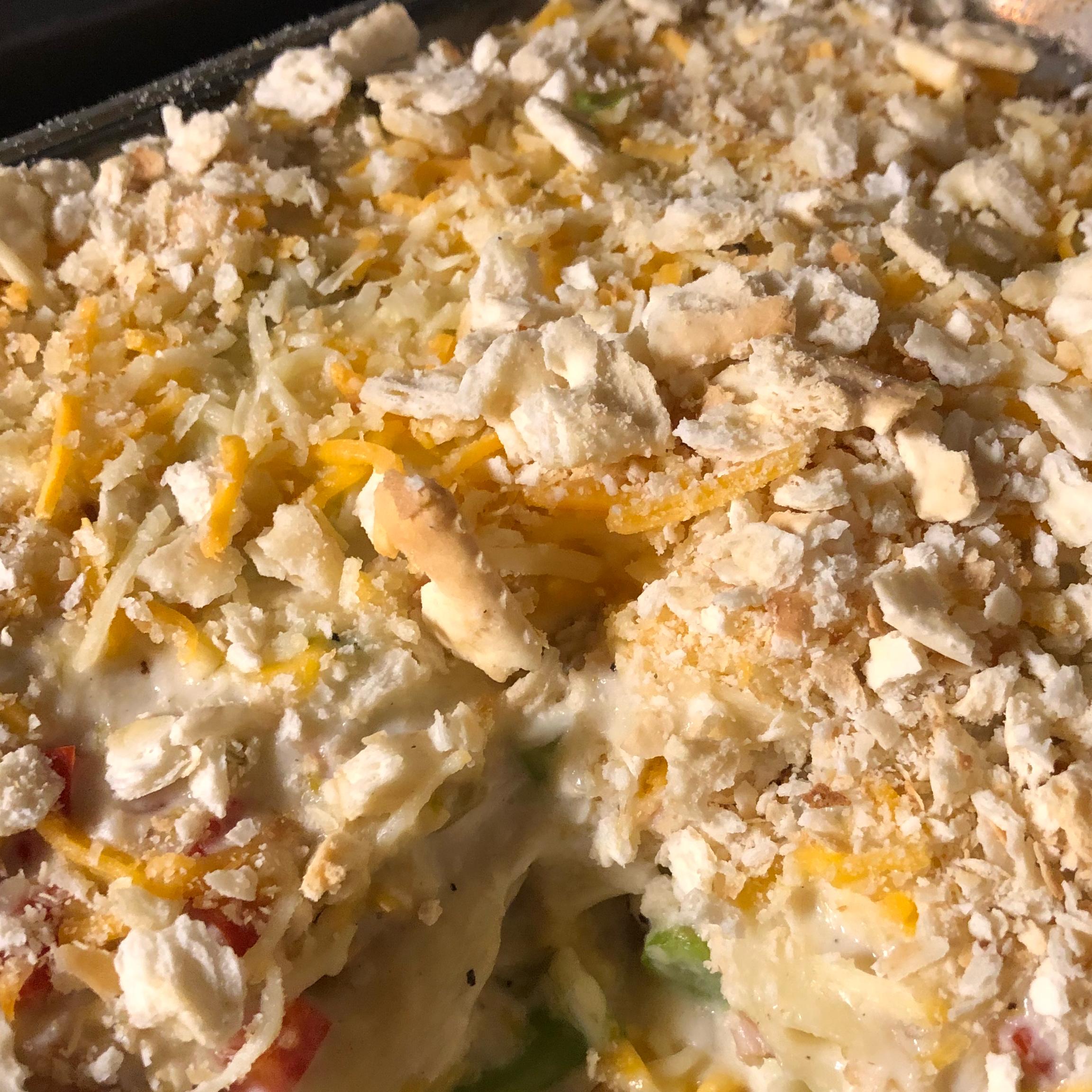 Cheesy Chicken Asparagus Casserole bibs