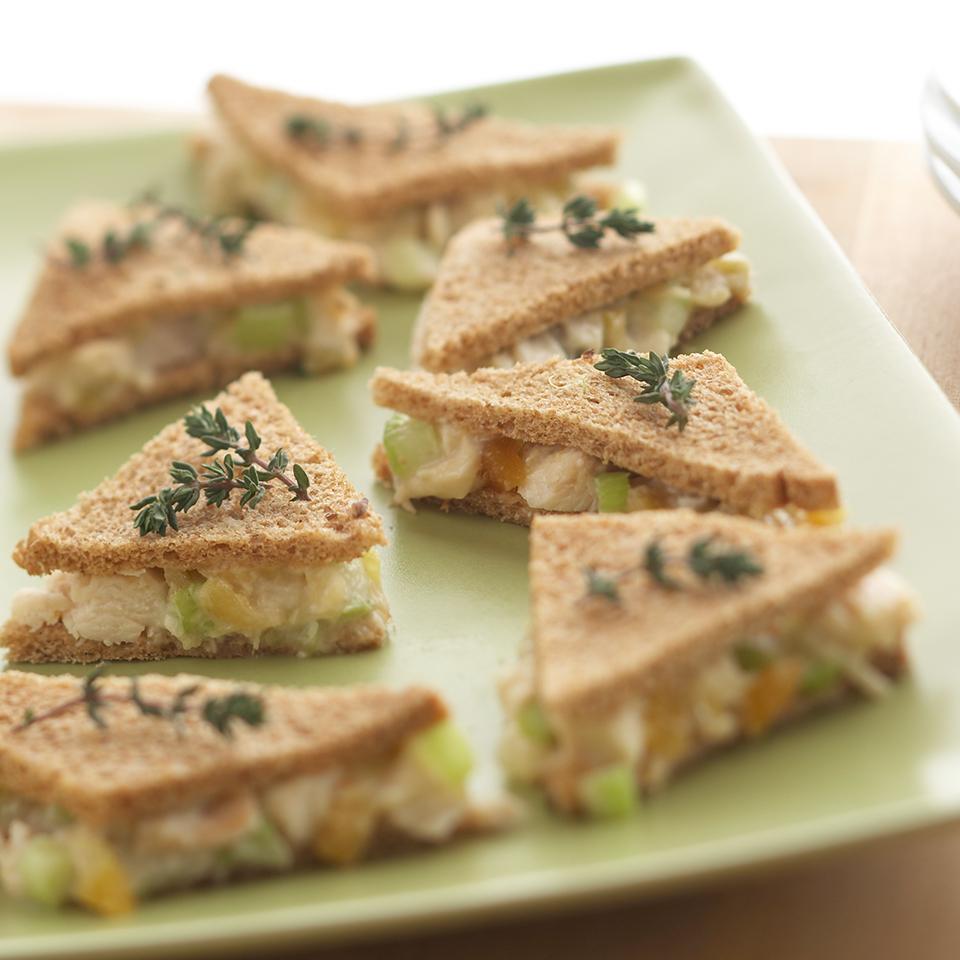Chicken Salad Tea Sandwiches Trusted Brands