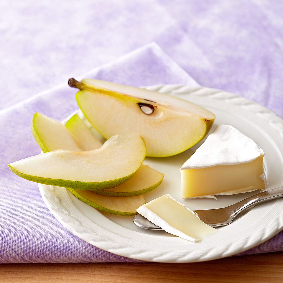 Pears & Brie Cheese Diabetic Living Magazine