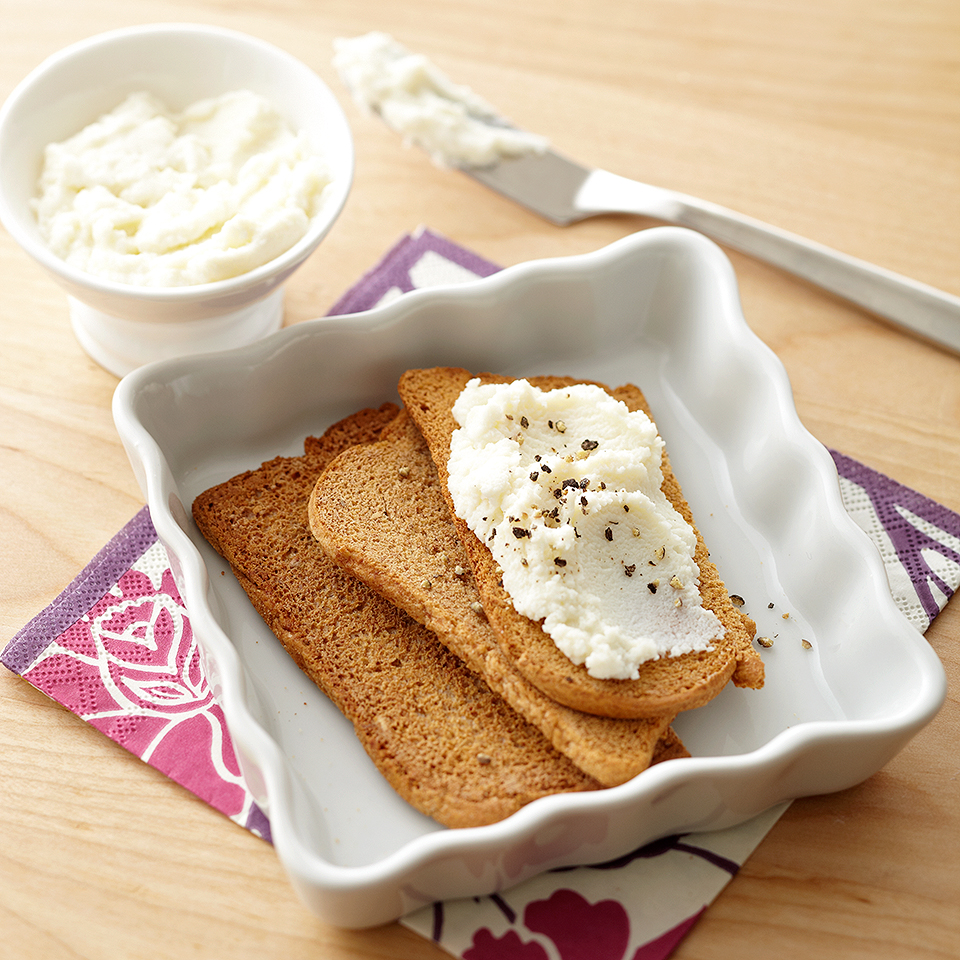 Ricotta Cheese Toast Trusted Brands