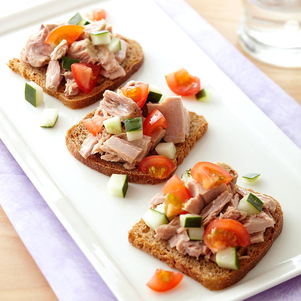Mini Tuna Sandwich Diabetic Living Magazine
