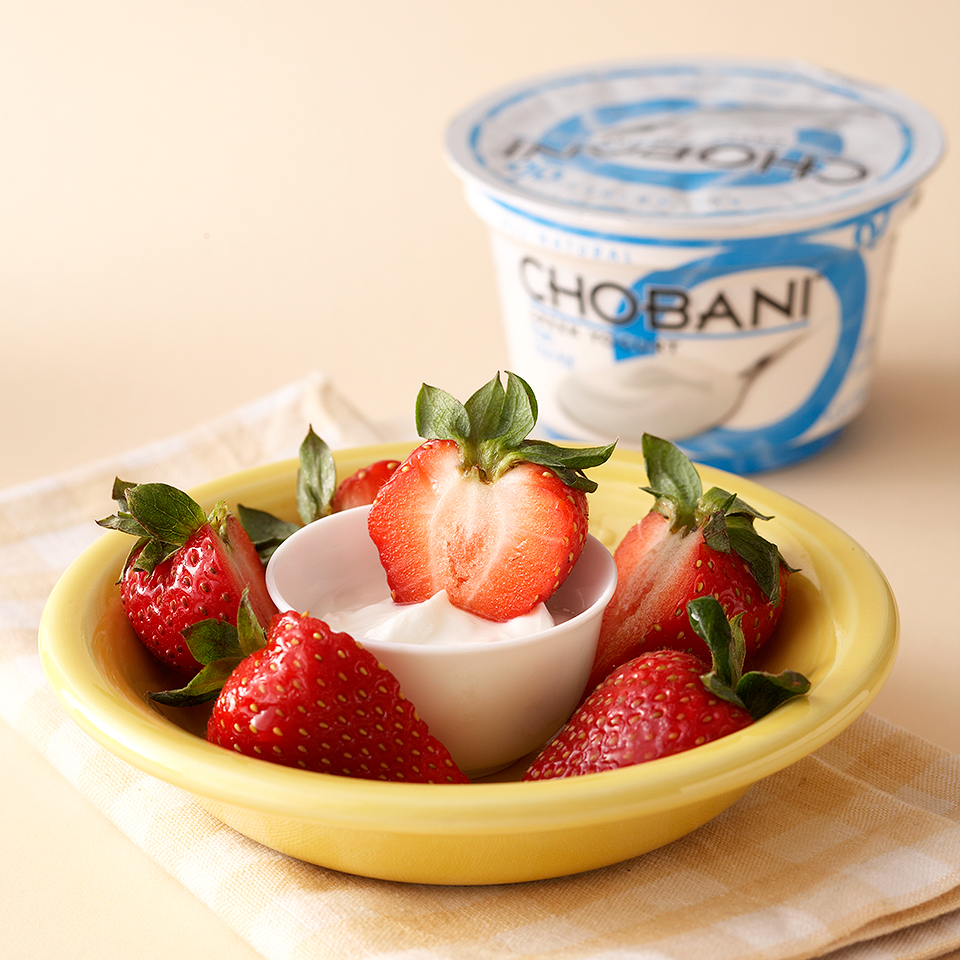 Greek Yogurt Strawberries Trusted Brands