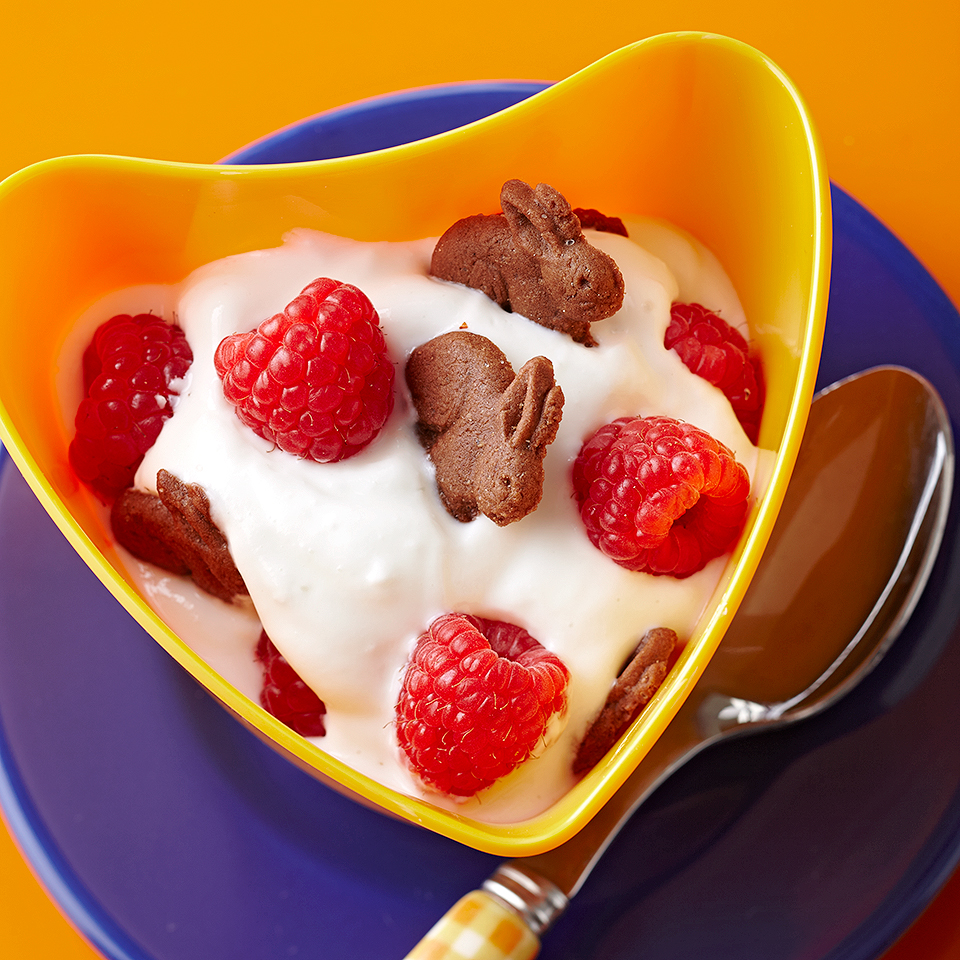 Crunchy Chocolate-Raspberry Yogurt Diabetic Living Magazine