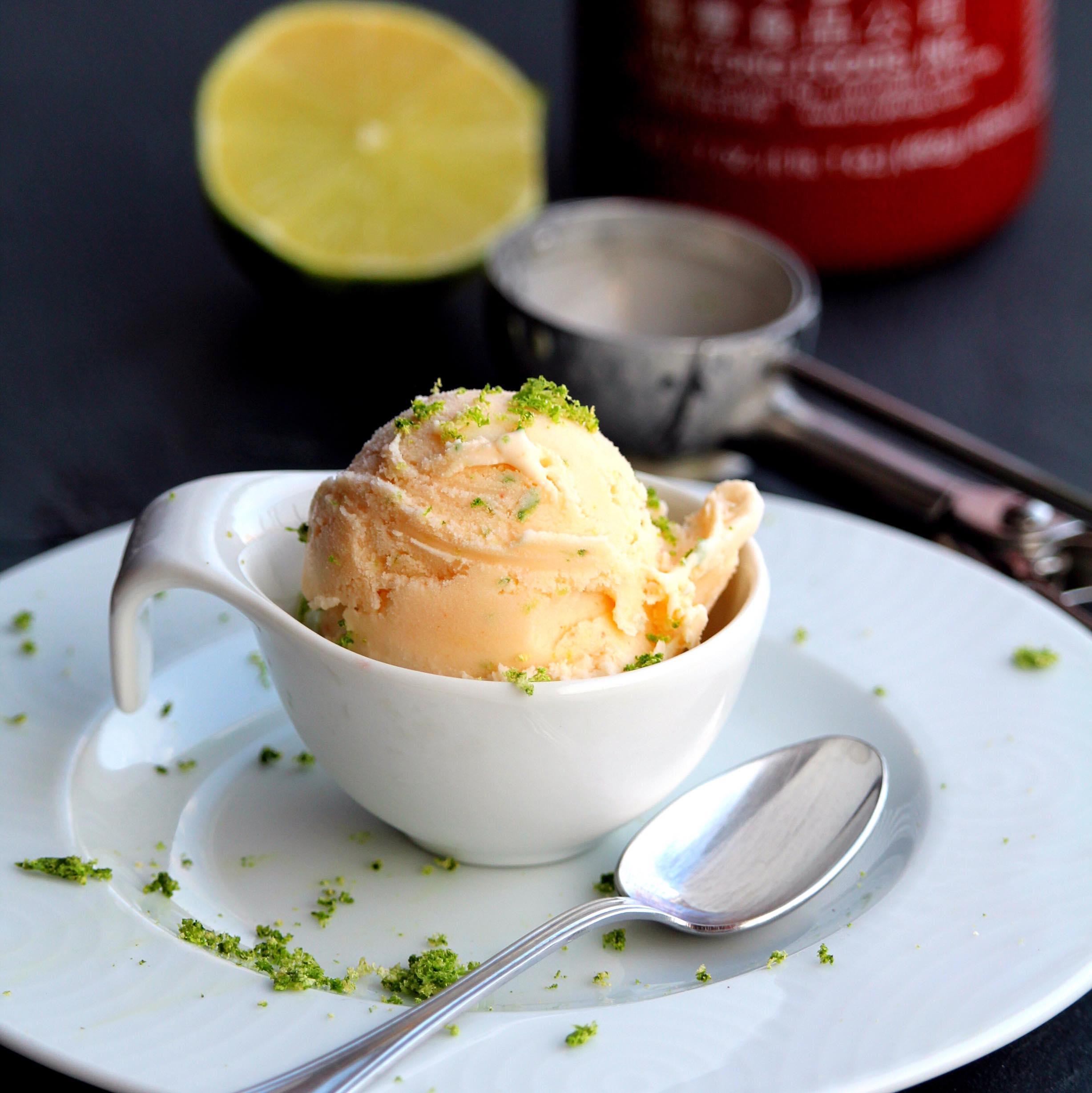 Sriracha Lime Ice Cream