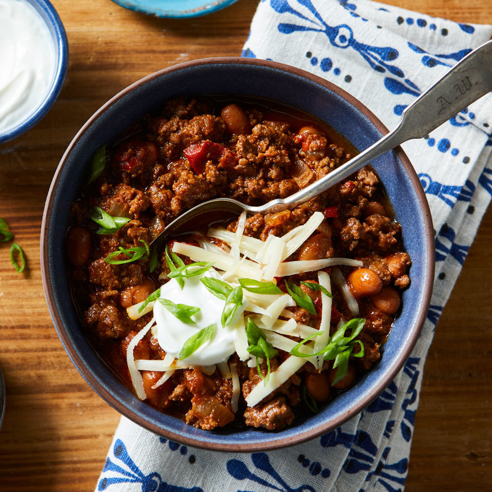 Pressure-Cooker Chili Hilary Meyer