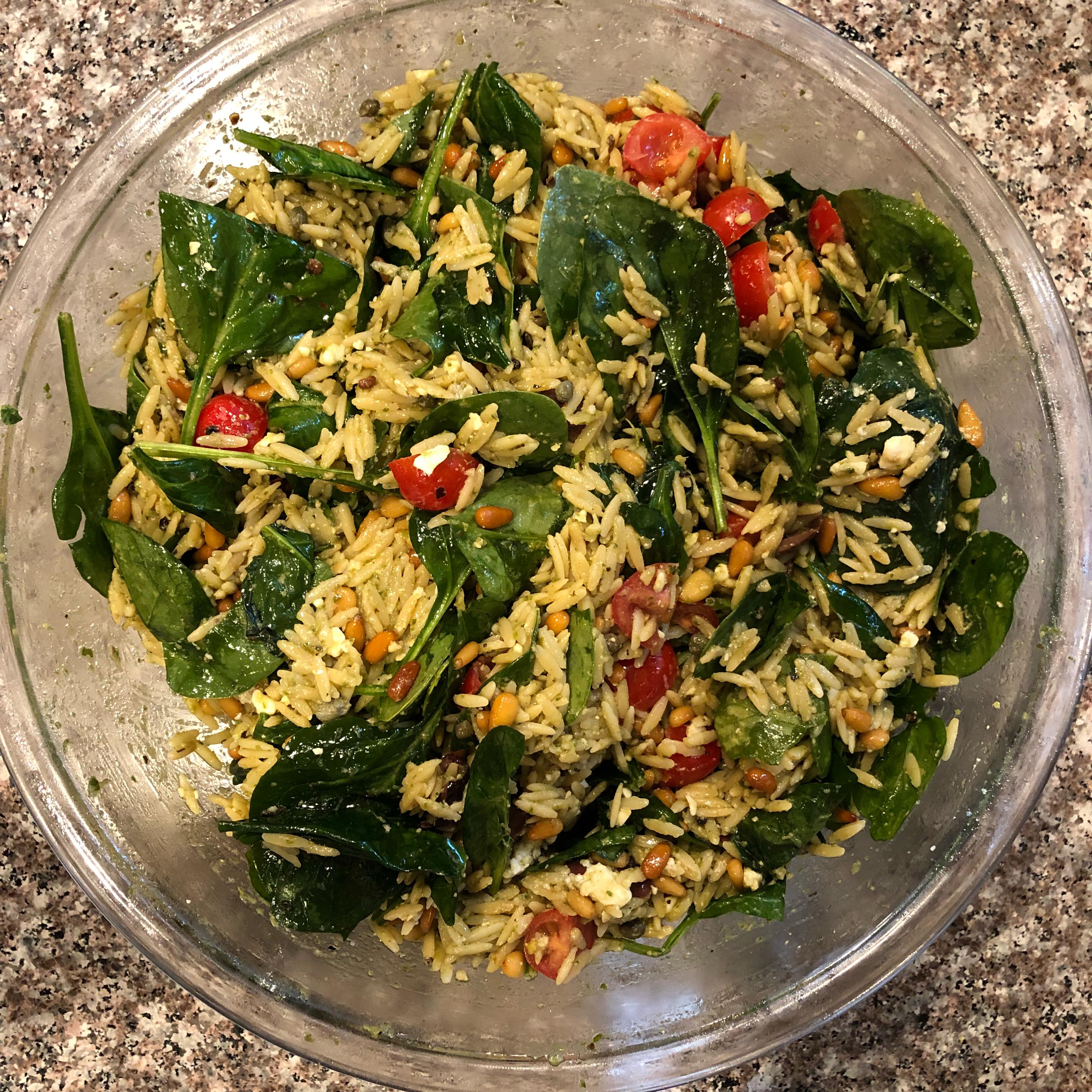 Refreshing Summer Orzo Salad