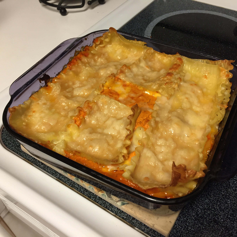 Easy Four Cheese Lasagna