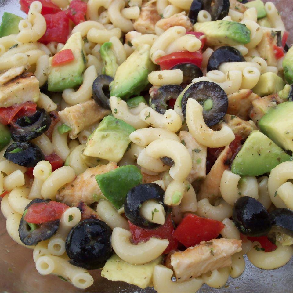 Artichoke Pasta Salad pomplemousse