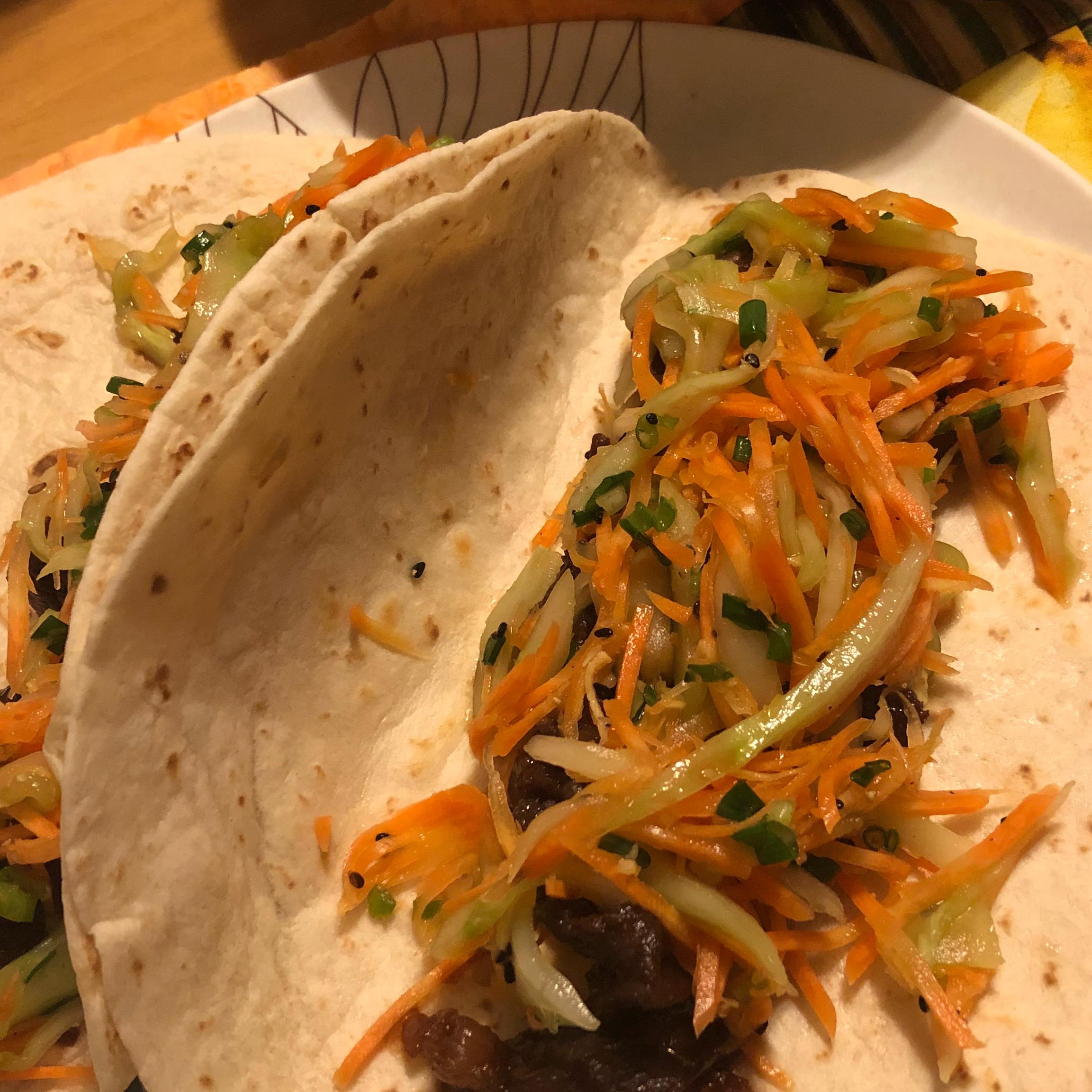 Asian Tacos Gene Wheeler