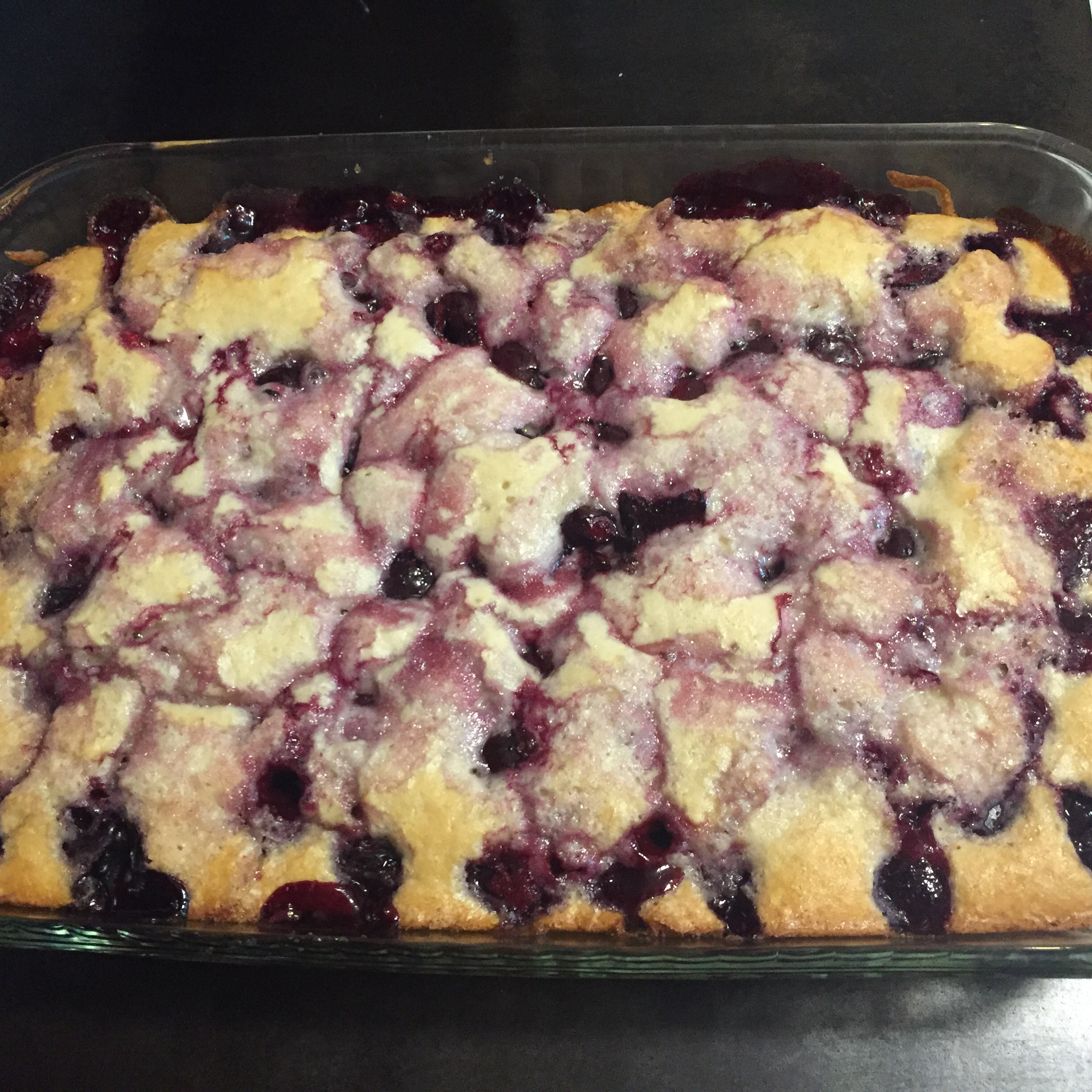Sour Cherry Pudding Cake Erin Woolf