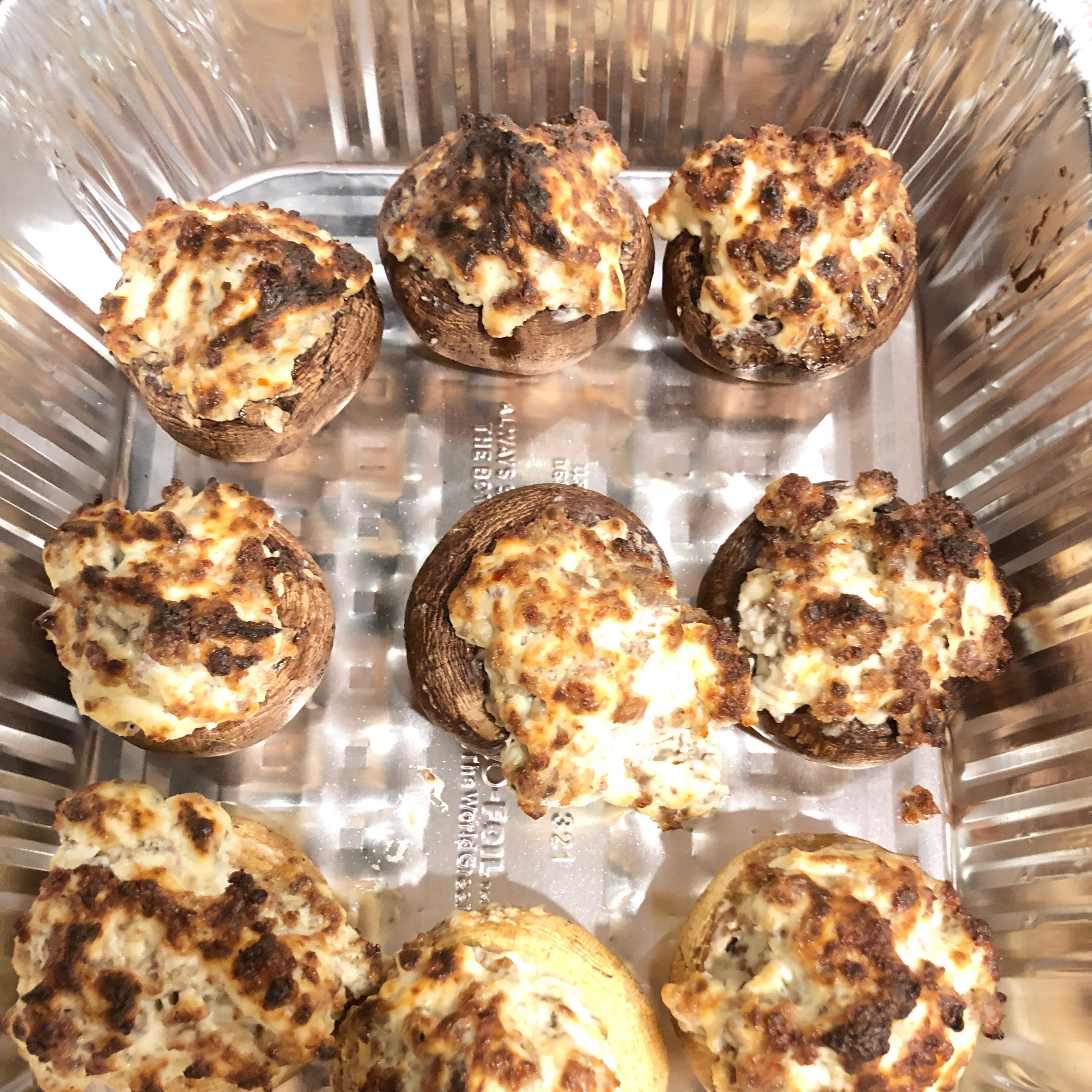 Sausage Stuffed Mushrooms II Chris C