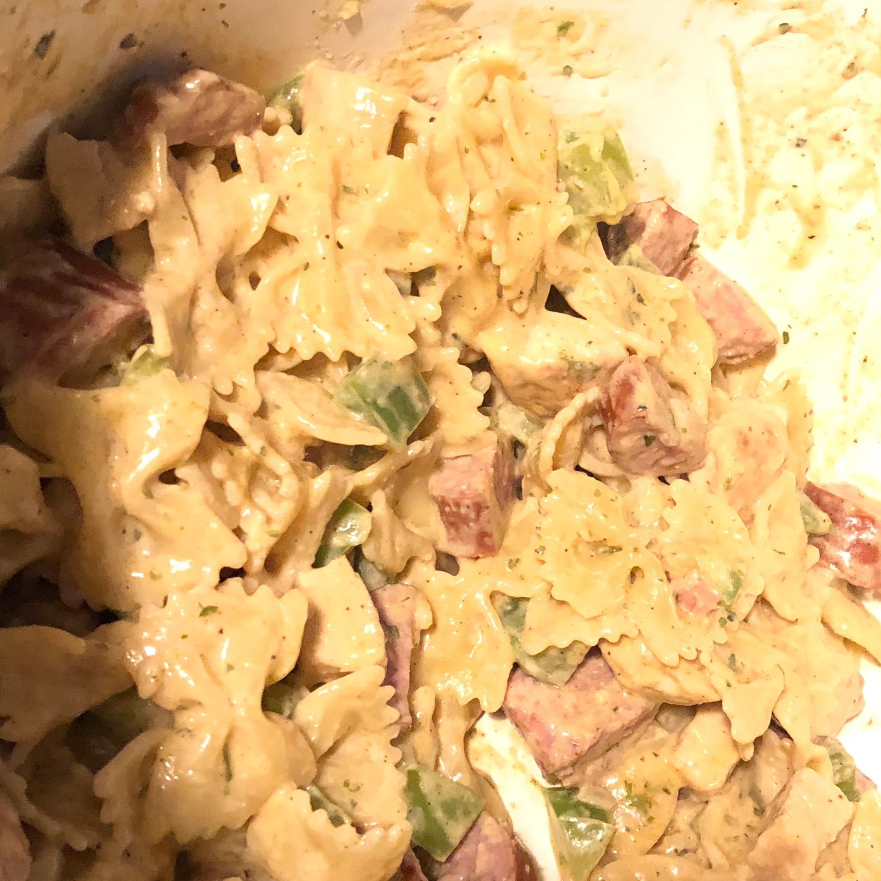 Cajun Chicken and Sausage Pasta Javon Kegler