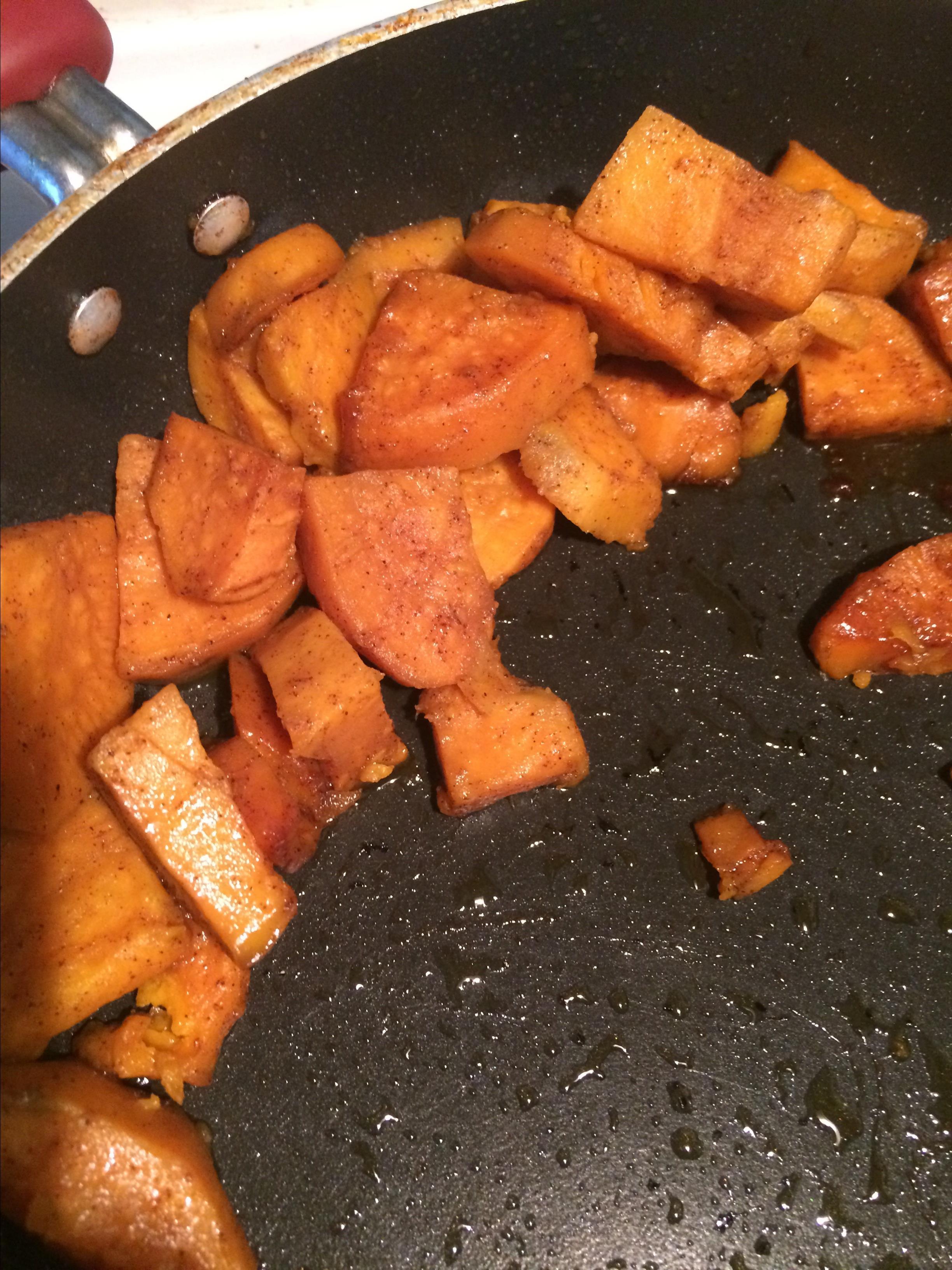Fried Sweet Potatoes JLCre8