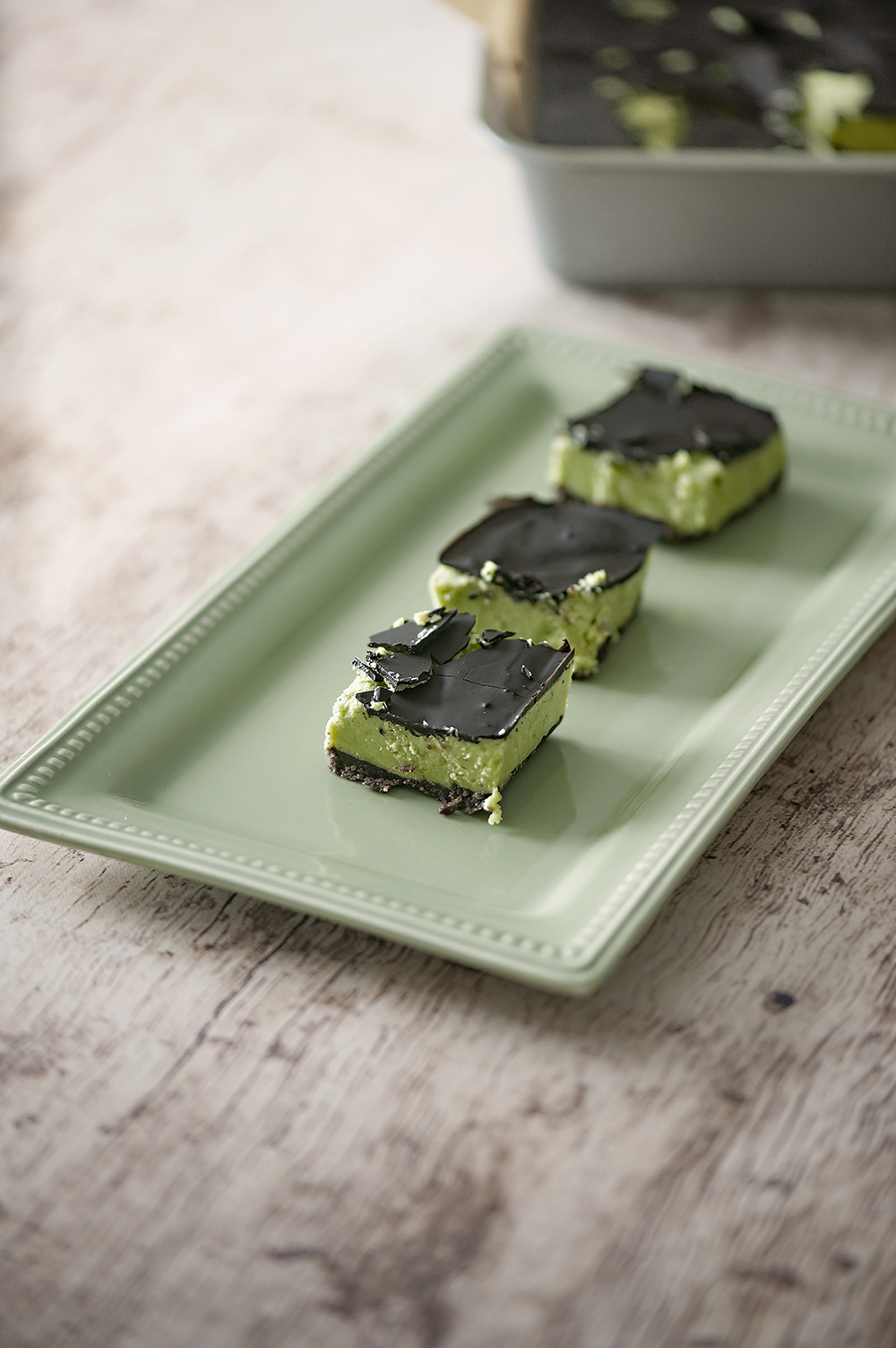 Keto Matcha Mint Bars Angela Sackett  Superhotmama