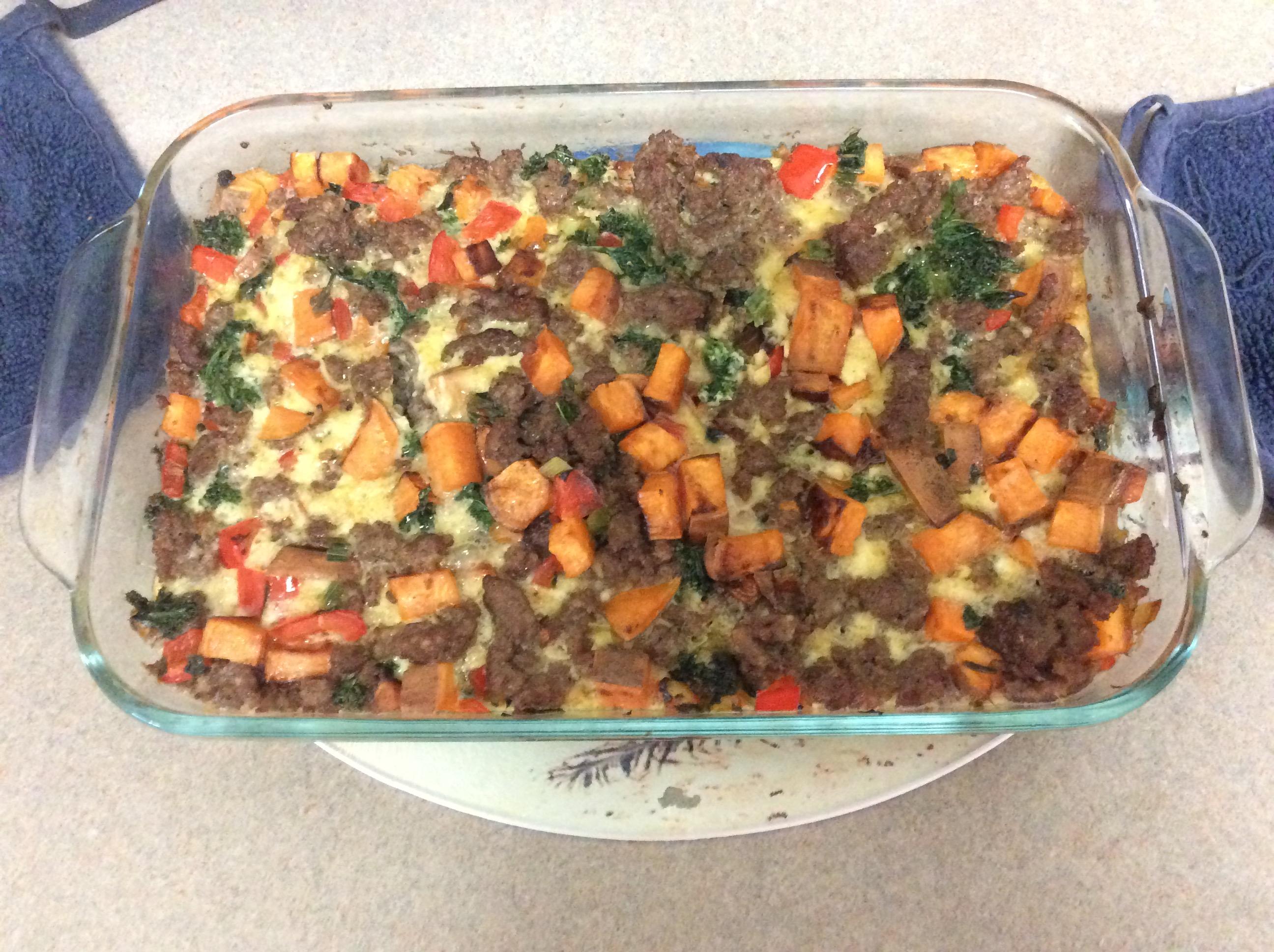 Sweet Potato Breakfast Bake Amanda Ritter