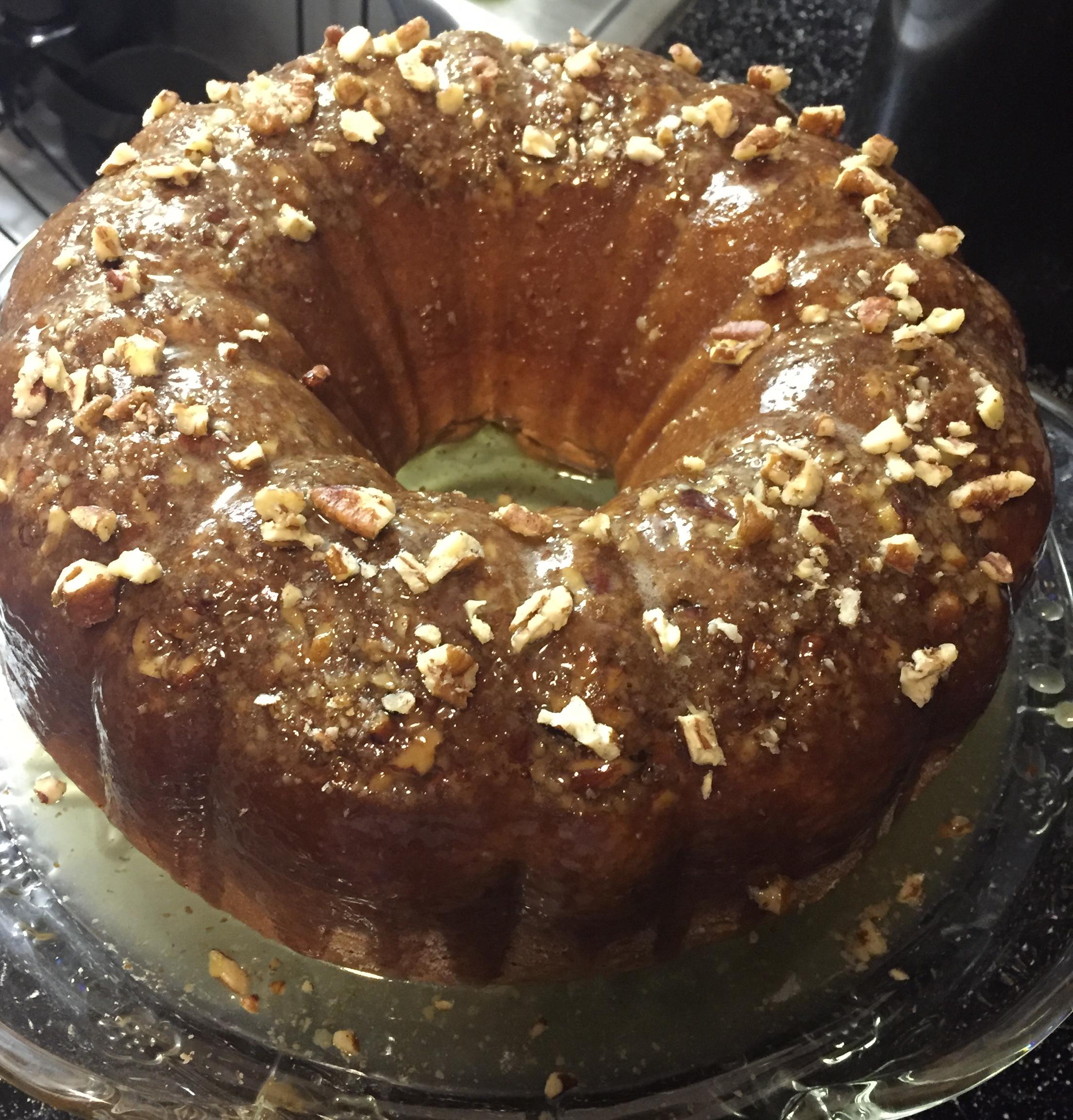 Irish Cream Bundt Cake