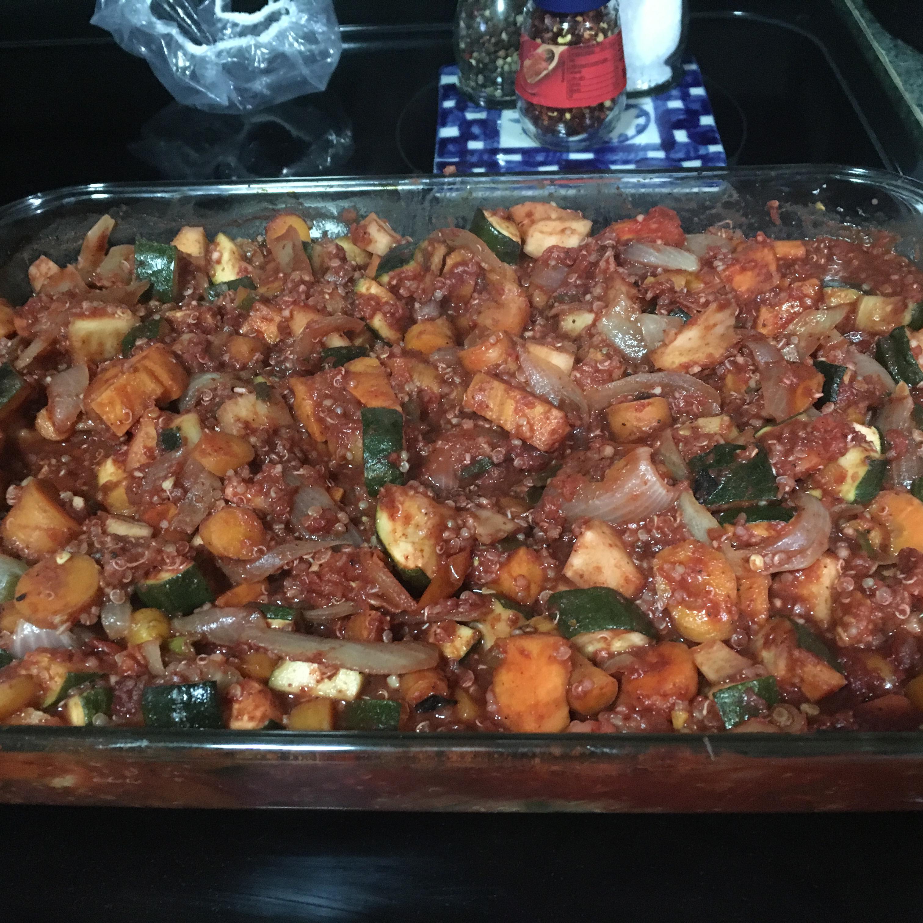 Tandoori Roasted Root Vegetable Stew Amber Vejraska