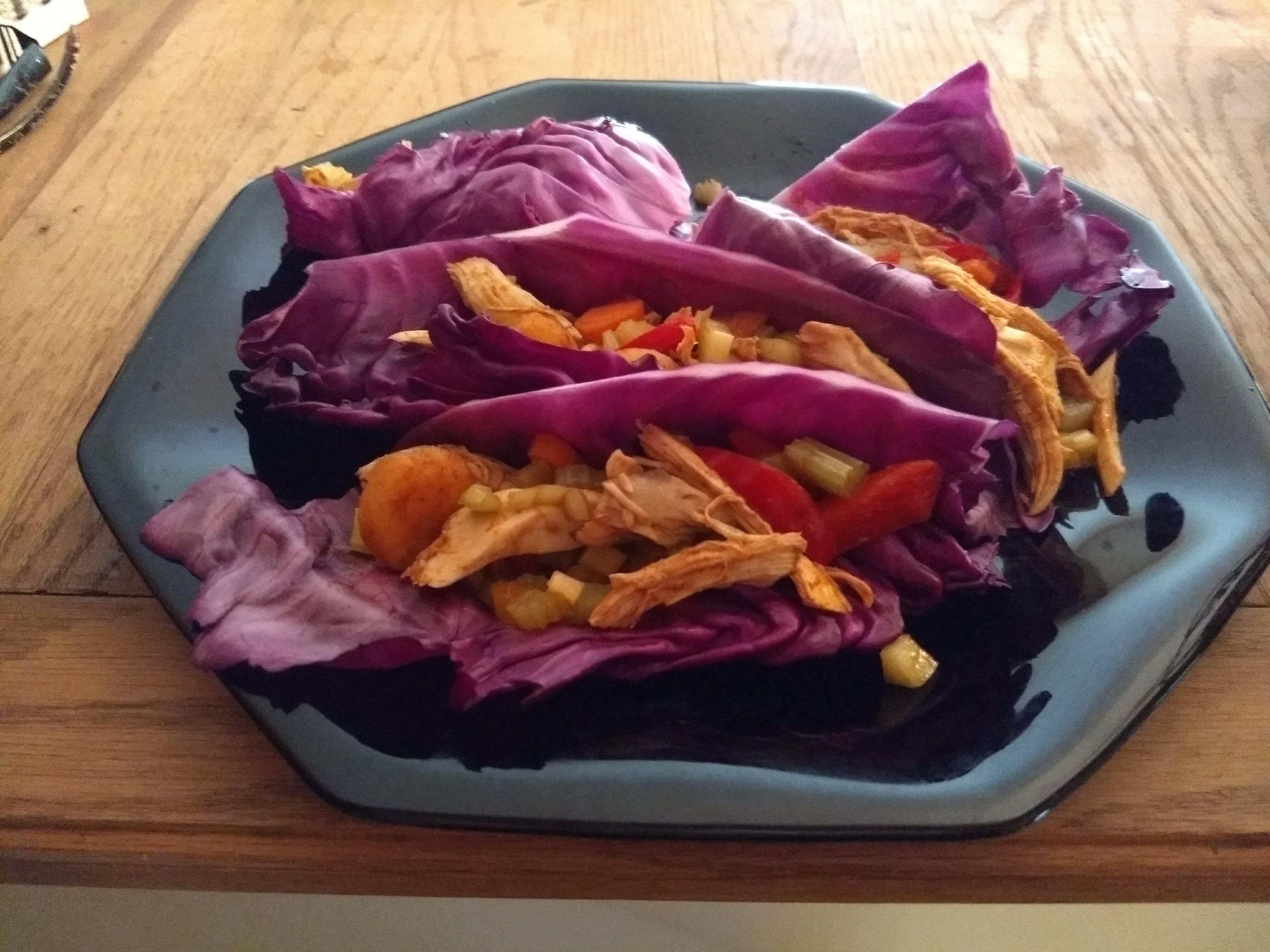 Chicken Cabbage Wraps Jennifer