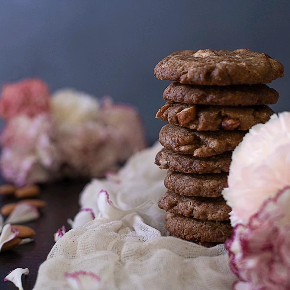 White Chocolate Coconut Macadamia Cookies