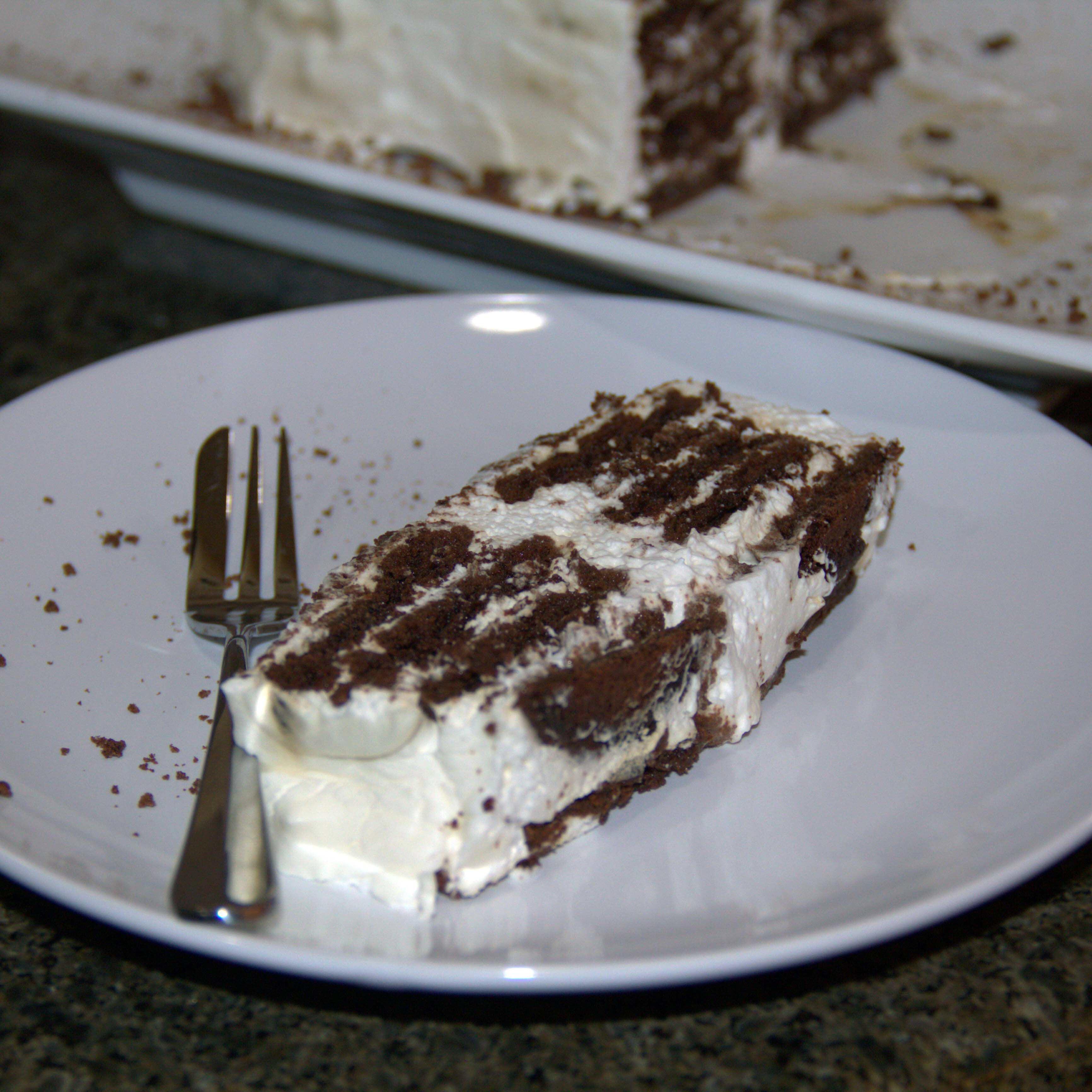 Brandy Chocolate Ripple Cake