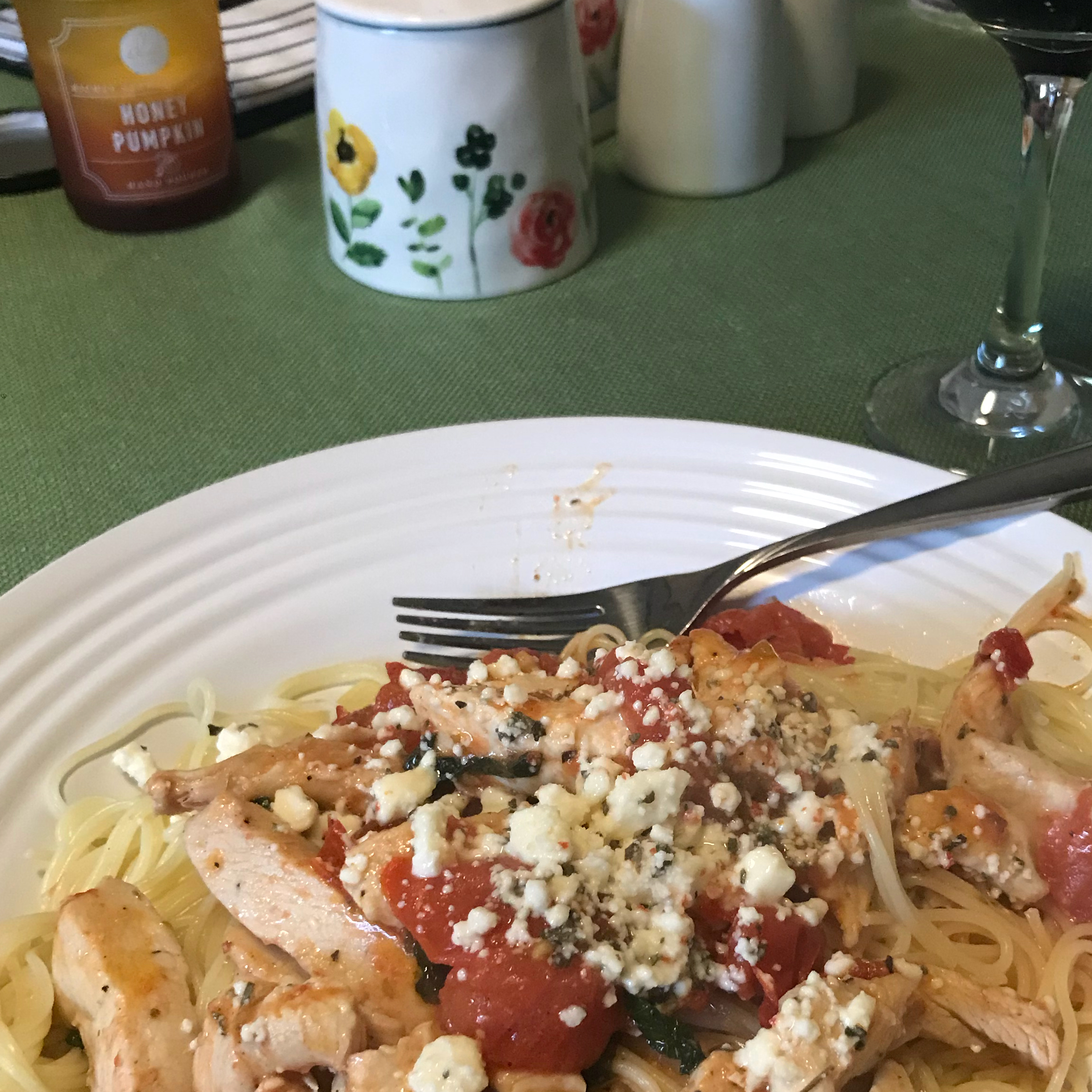 California Chicken Spaghetti becky