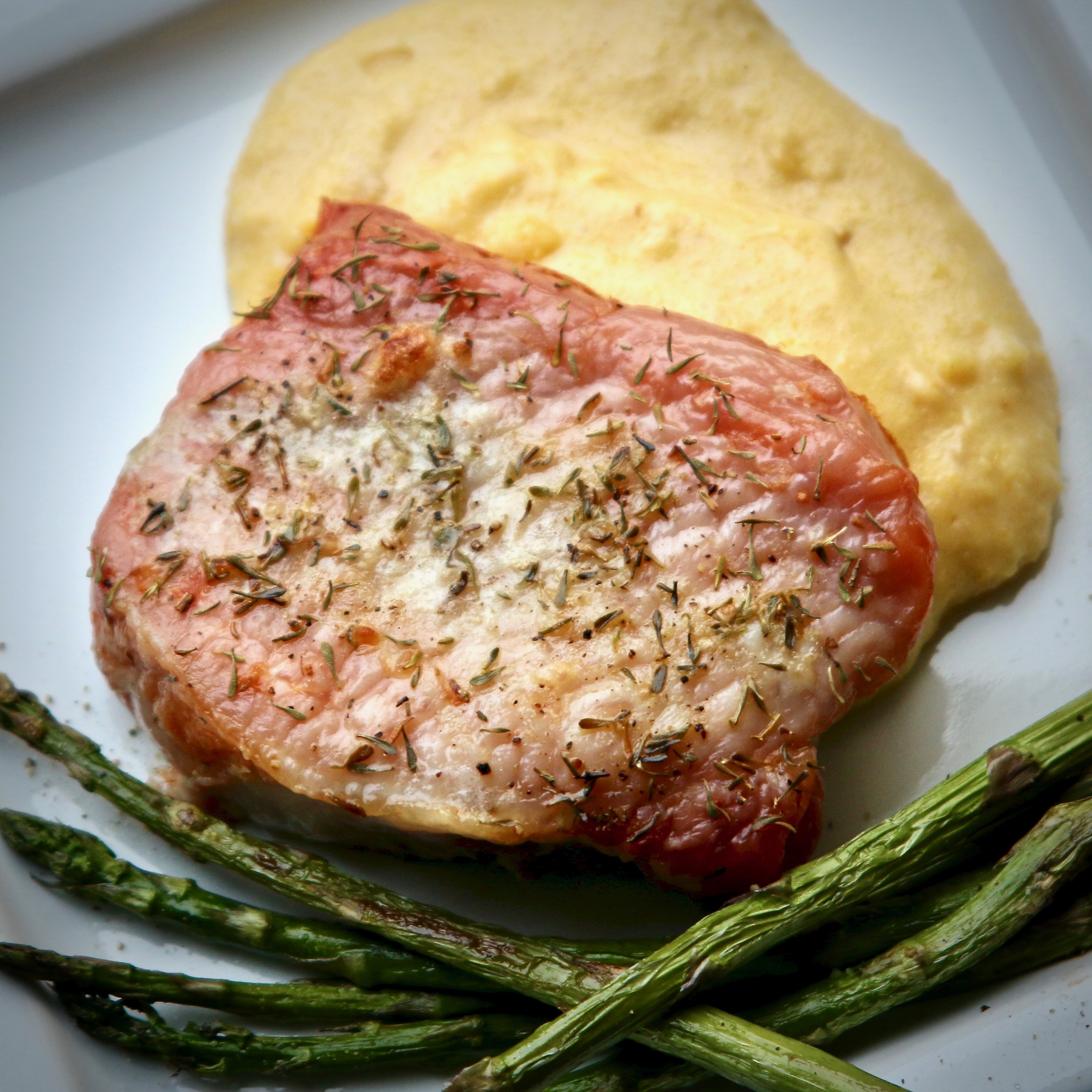 Perfect Simple Roasted Pork Chops