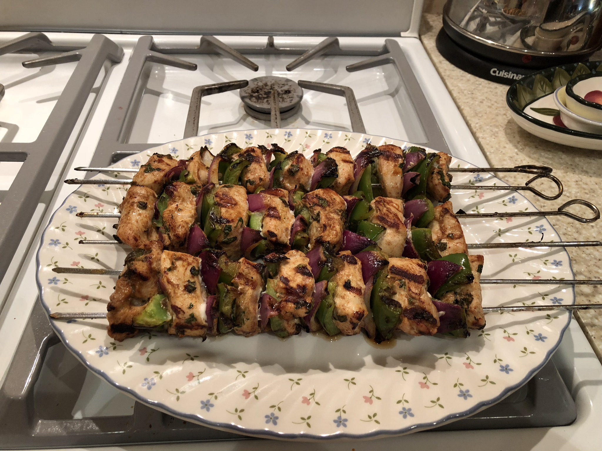 Moroccan-Spiced Chicken Skewers Penni Maitland