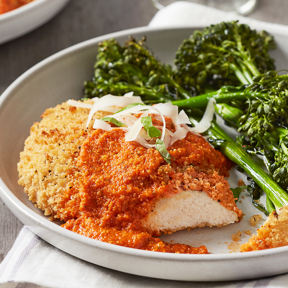 This delicious Chicken Parmesan dinner for two is ready in just 30 minutes!
