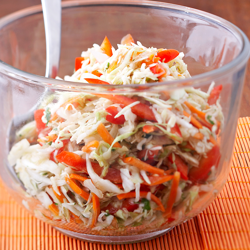 Asian Coleslaw Diabetic Living Magazine