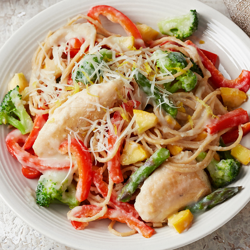 Chicken Pasta Primavera Diabetic Living Magazine