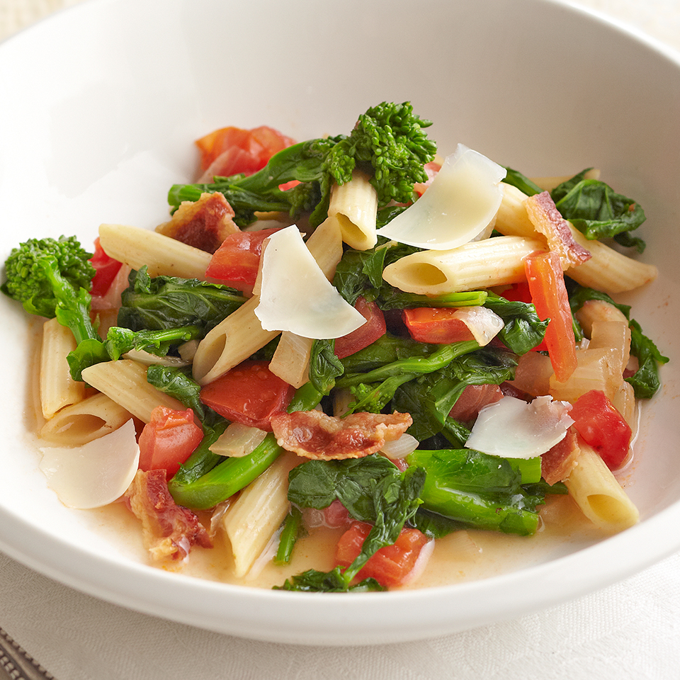 Penne with Broccoli Rabe Diabetic Living Magazine