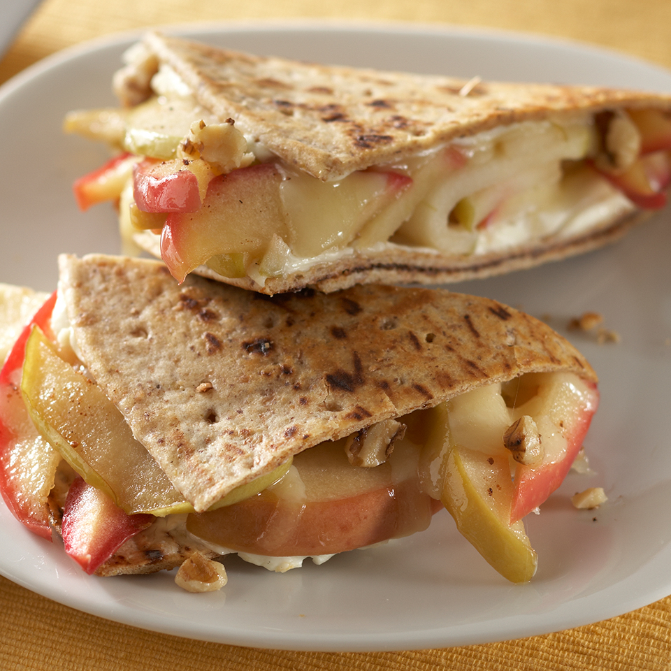 Toasted Apple-Cheese Breakfast Sandwiches Diabetic Living Magazine