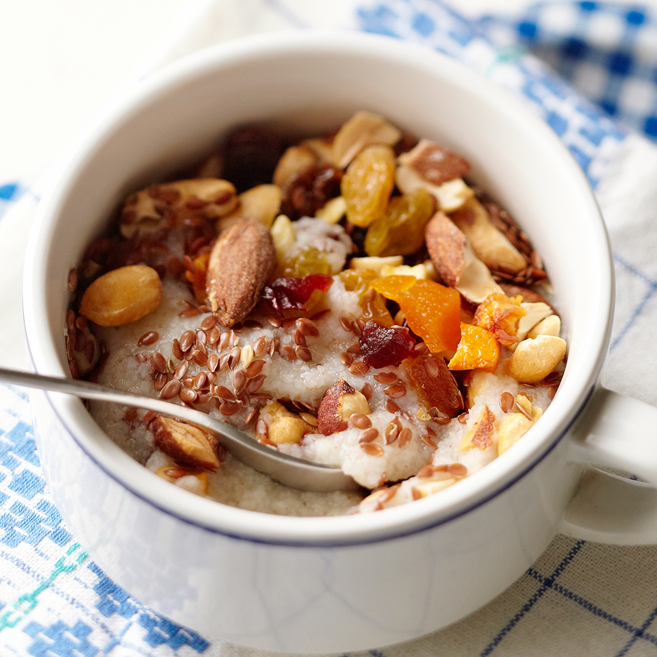 Trail Mix Hot Cereal Diabetic Living Magazine