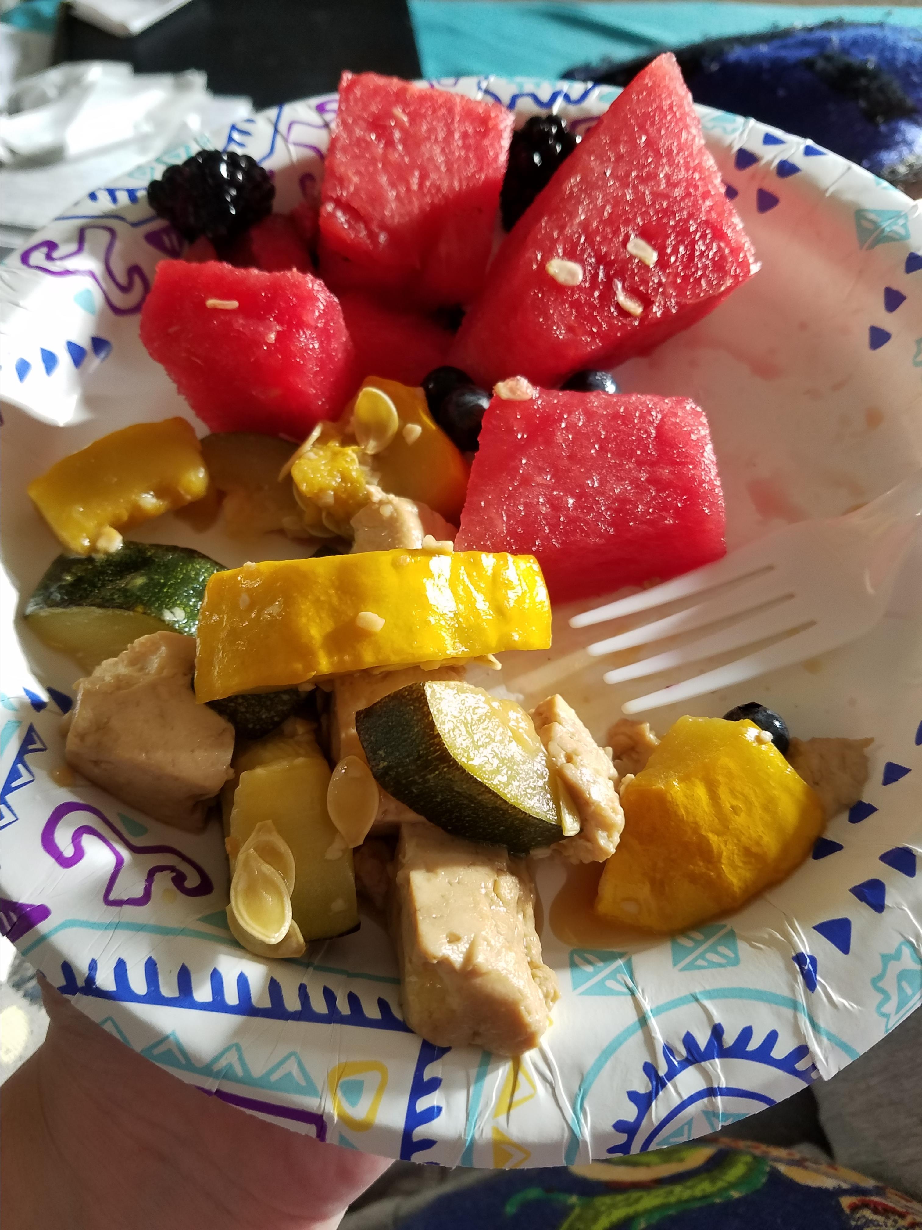 Yellow Squash and Tofu Stir Fry Tonya Wilson