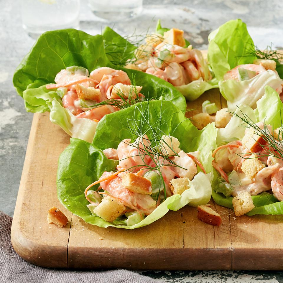 Shrimp Lettuce Rolls Trusted Brands