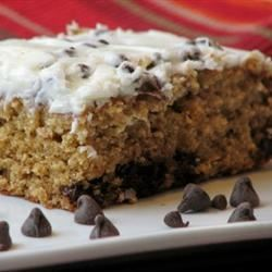 Quick Chocolate Chip Cake mominml