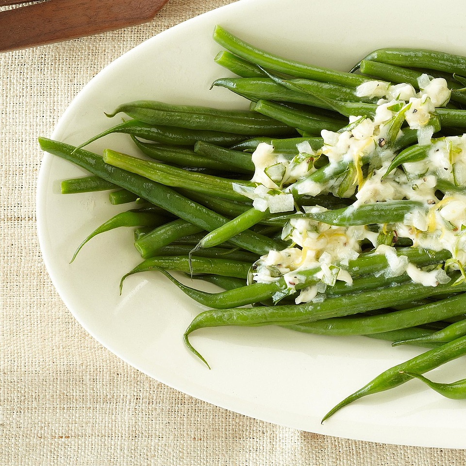 Haricots Verts with Herb Butter Diabetic Living Magazine